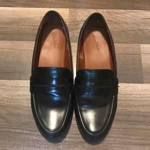 Black Loafers, size 7 1/2